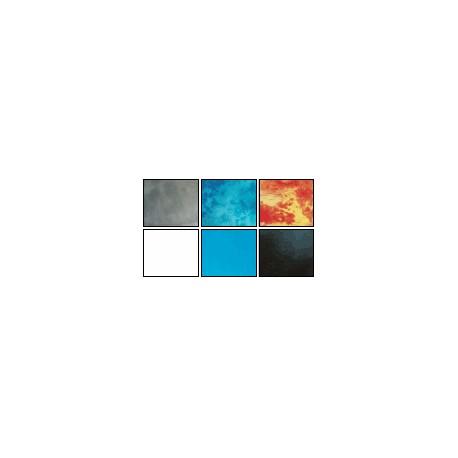 Pano estúdio fundos batik e Uni 2,70 x 7,00 m azul uni