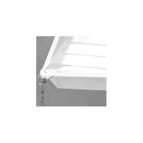 Kaiser 24x30 prato de laboratório Branco/ Vermelho /Preto