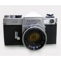 Yashica J-3 + Yashinon 1:2 50mm