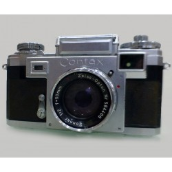 Contax IIIa + 50mm 1:2 Sonnar, Zeiss Opton, Carl Keiss