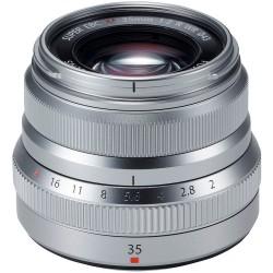 FUJINON Lens XF35mmF2 R WR Silver