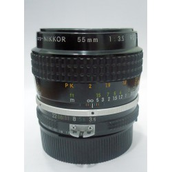 Nikkor 55mm macro 3:5