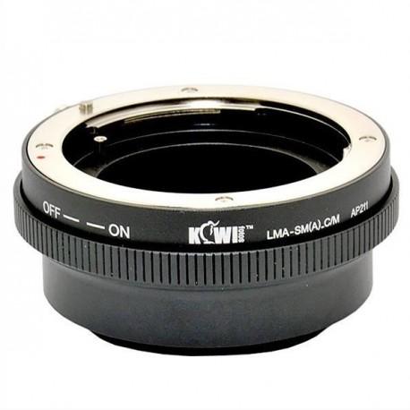 Adaptador Sony Alpha-Minolta AF/Canon EOS M