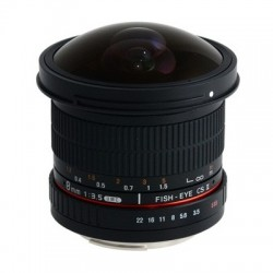 Samyang 8mm F/3.5 UMC CS II Fisheye - Canon