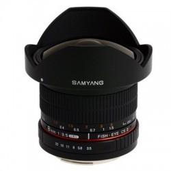 Samyang 8mm F/3.5 UMC CS II Fisheye - Nikon AE