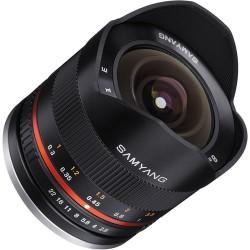 Samyang 8mm F/2.8 UMC Fisheye II - Fuji x