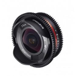 Samyang 7,5mm T3.8 Fisheye - Cine Micro 4/3