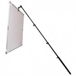 Refletor Quadrado 110cm c/ Braço Telescópico