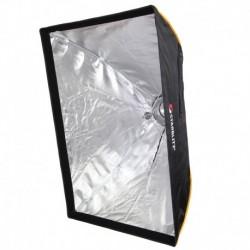 Caixa de Luz Retangular - Montagem Rápida 70x100cm