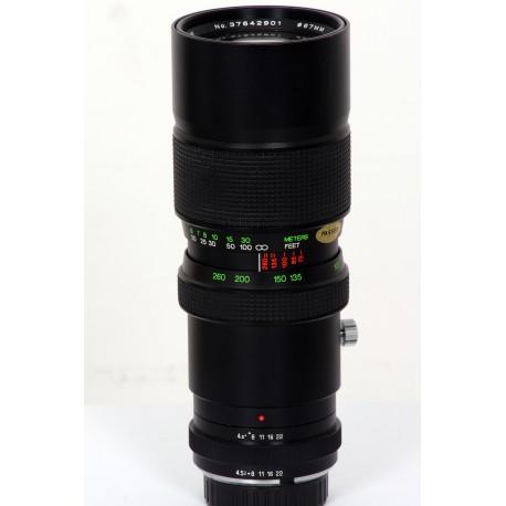 Minolta 75-260mm F/4,5 MD