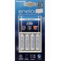 Panasonic Carregador Eneloop BQ-CC51 c/4 pilhas